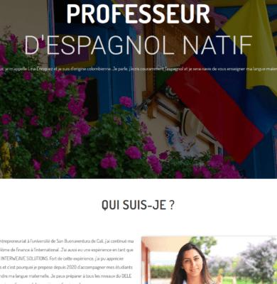 Professeur d'espagnol natif